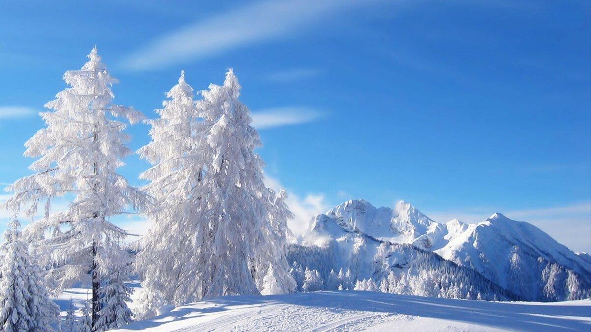 Картинки на рабочий стол на весь экран зима самые красивые обои