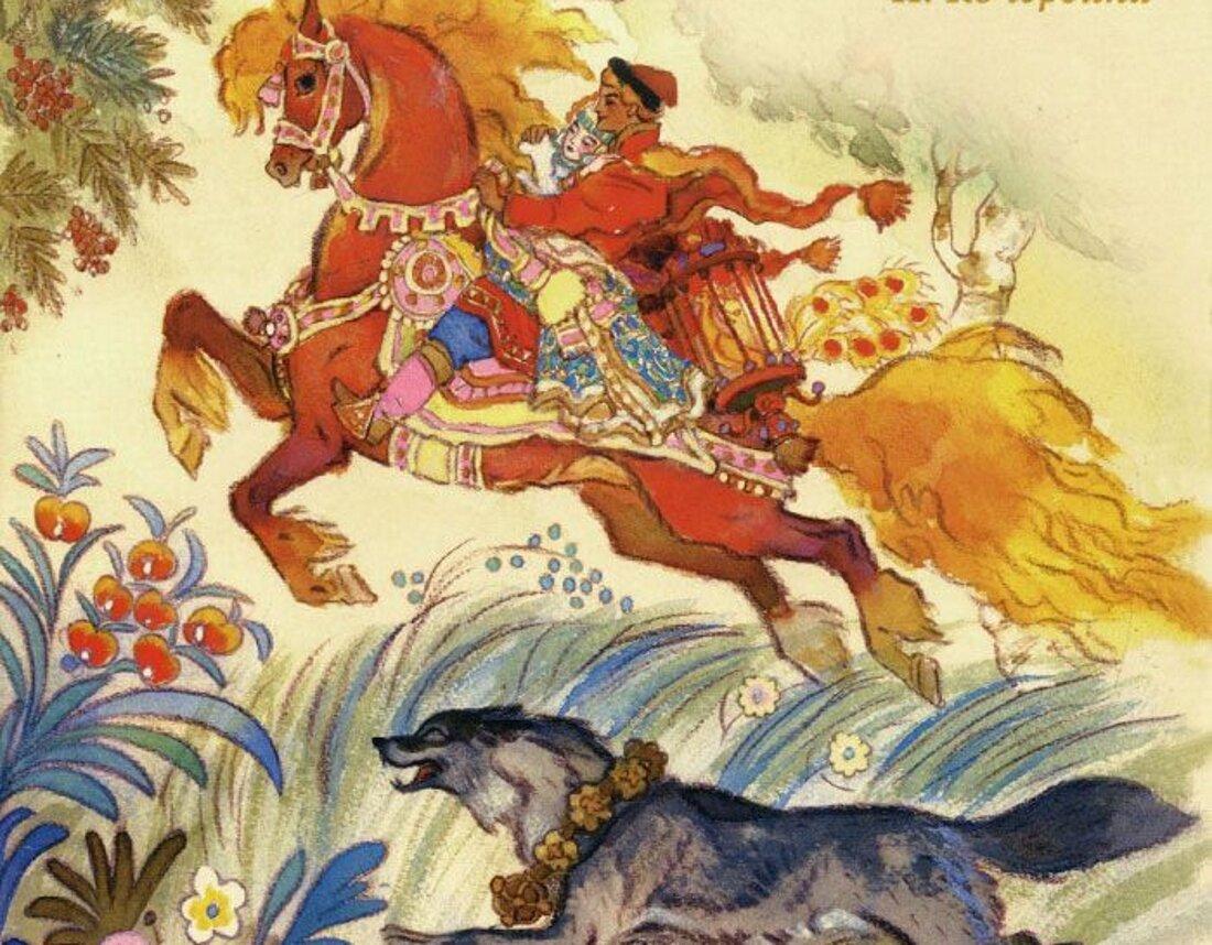Авторы русских сказок в картинках
