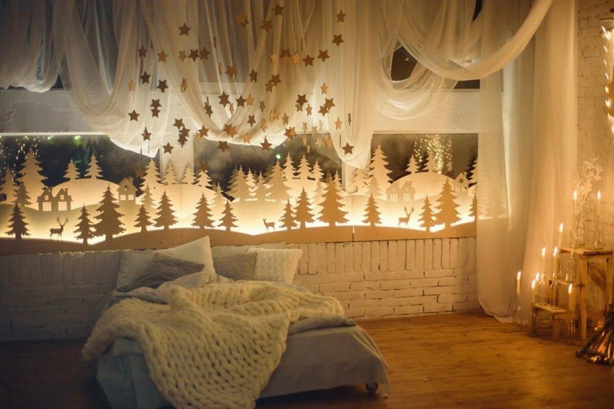Пасхой, новогодние картинки украшение комнаты