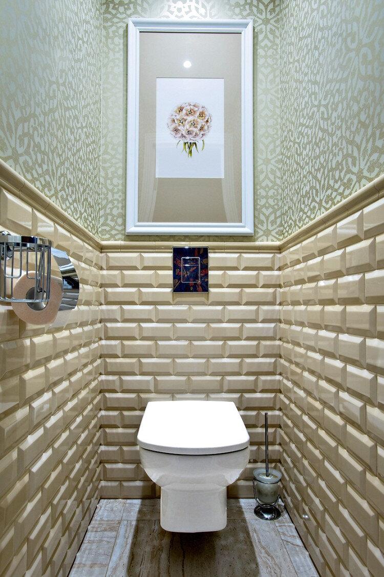 Дизайн туалета в обоях картинки