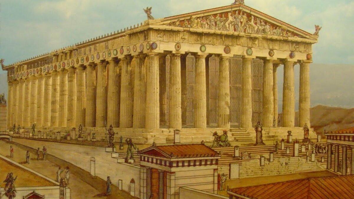 Картинки парфенон в древней греции