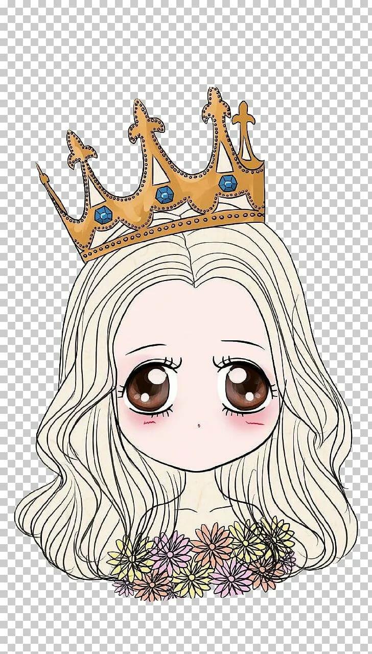 Картинки девушек в стиле тумблер с короной