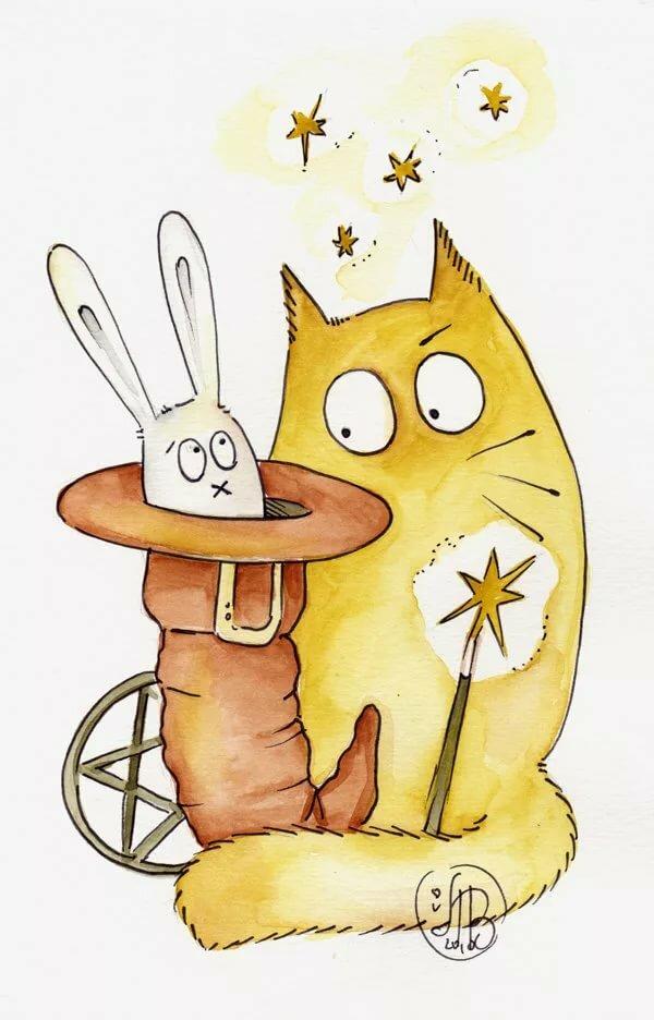 Мультяшные кошки прикольные картинки, ссср открытки картинки