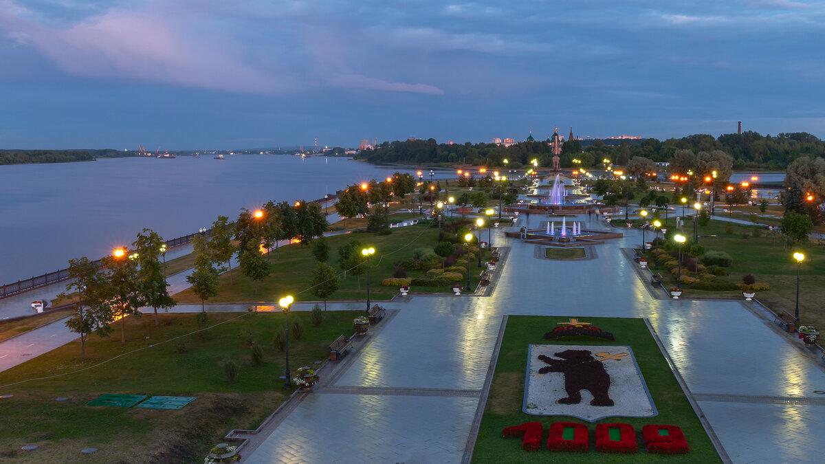 площадка воробьёвых ярославль стрелка фото сверху сергею саенко