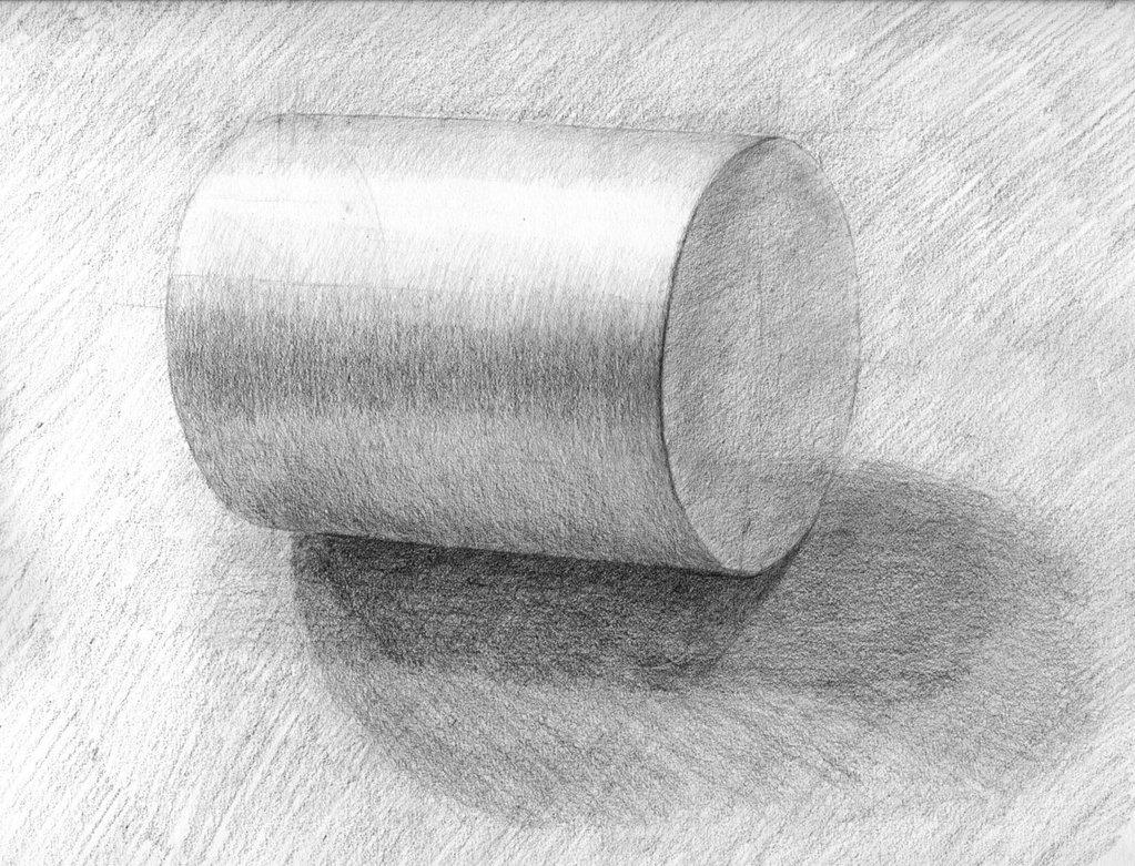 Музыкальные, картинка с тенью карандашом
