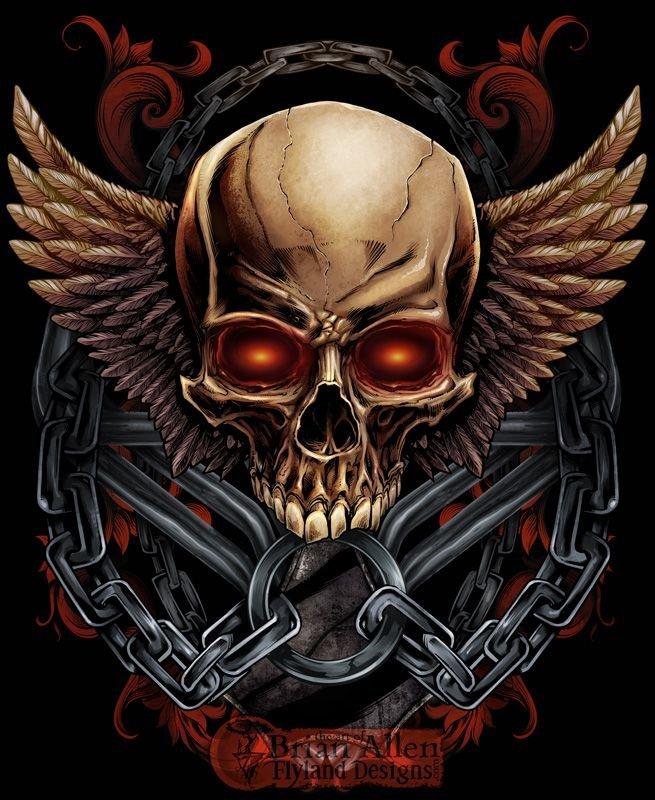 картинки с черепами и скелетами яровом