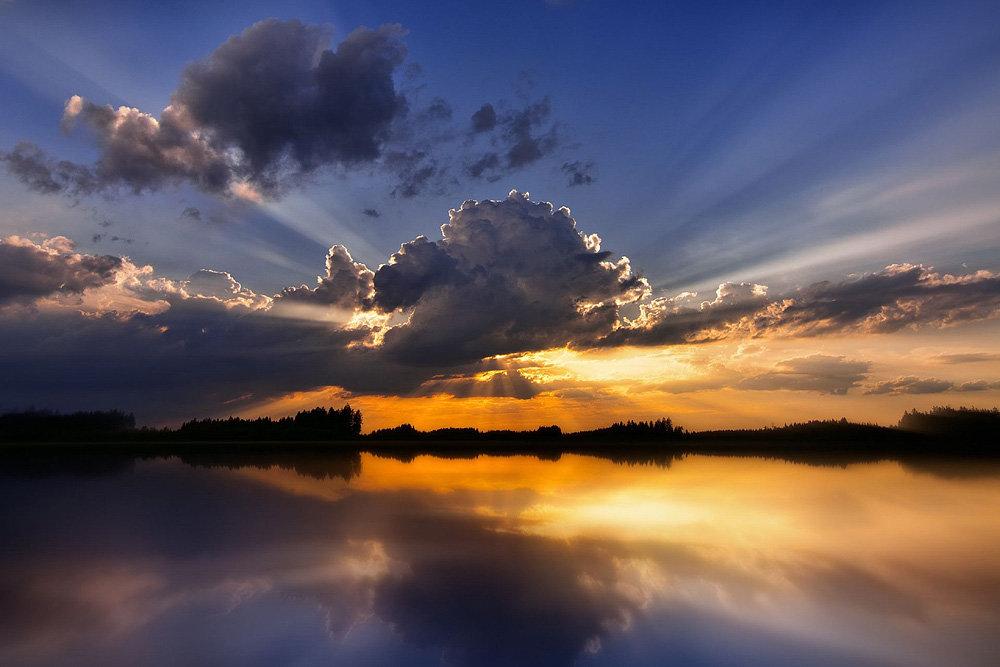 Мольбертом, картинки природа закат красивые