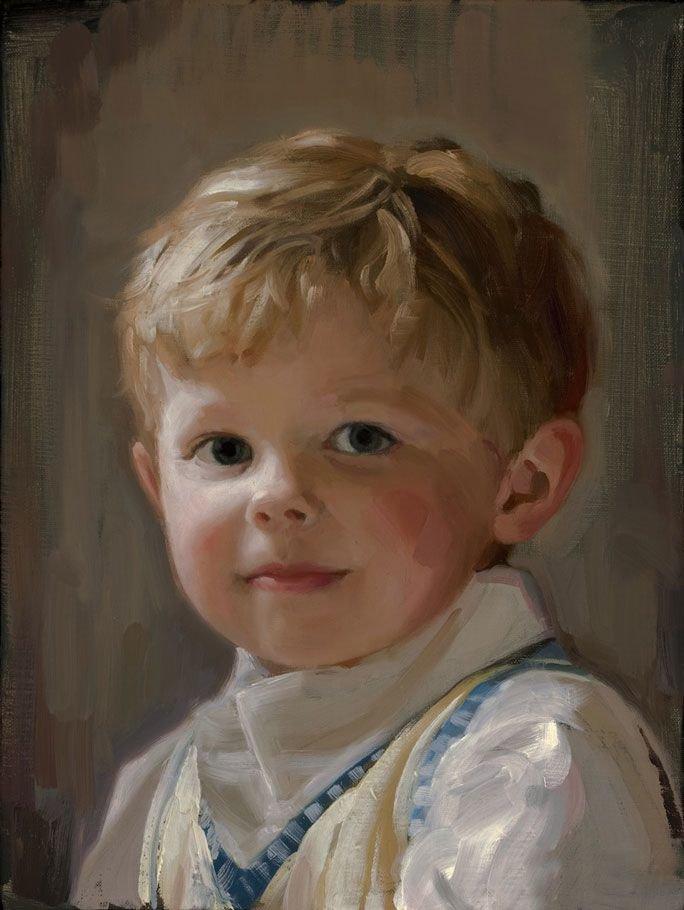 Детские портреты в открытках