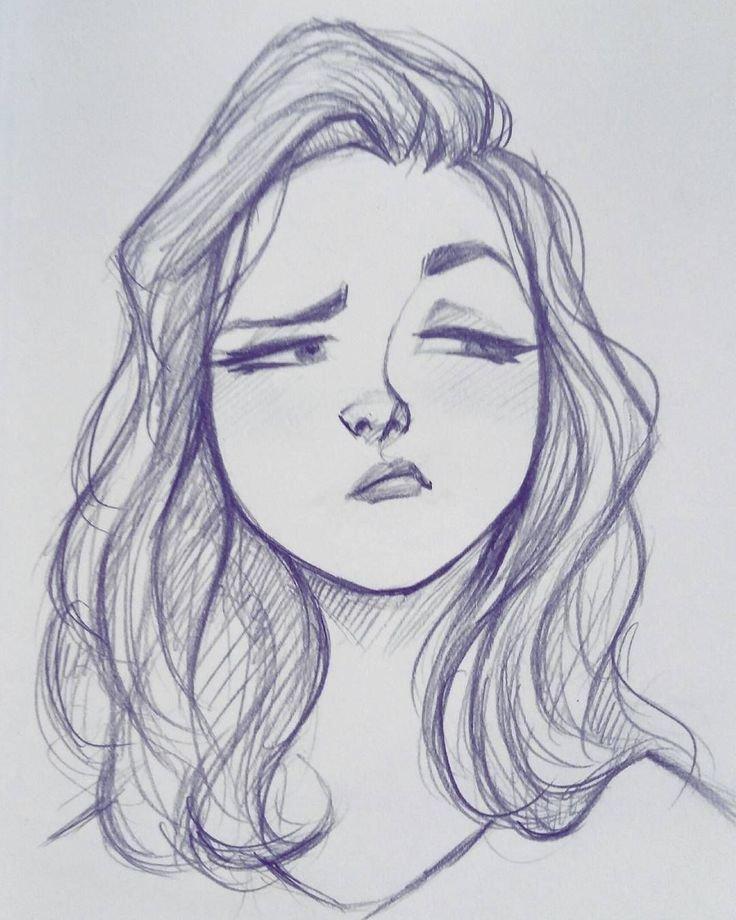 Рисовать картинки для девочек карандашом, сделать открытку