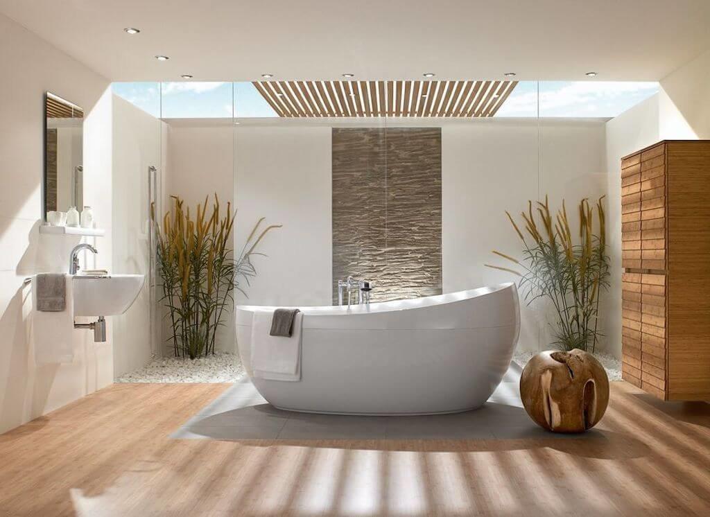 Утро, картинки в ванной