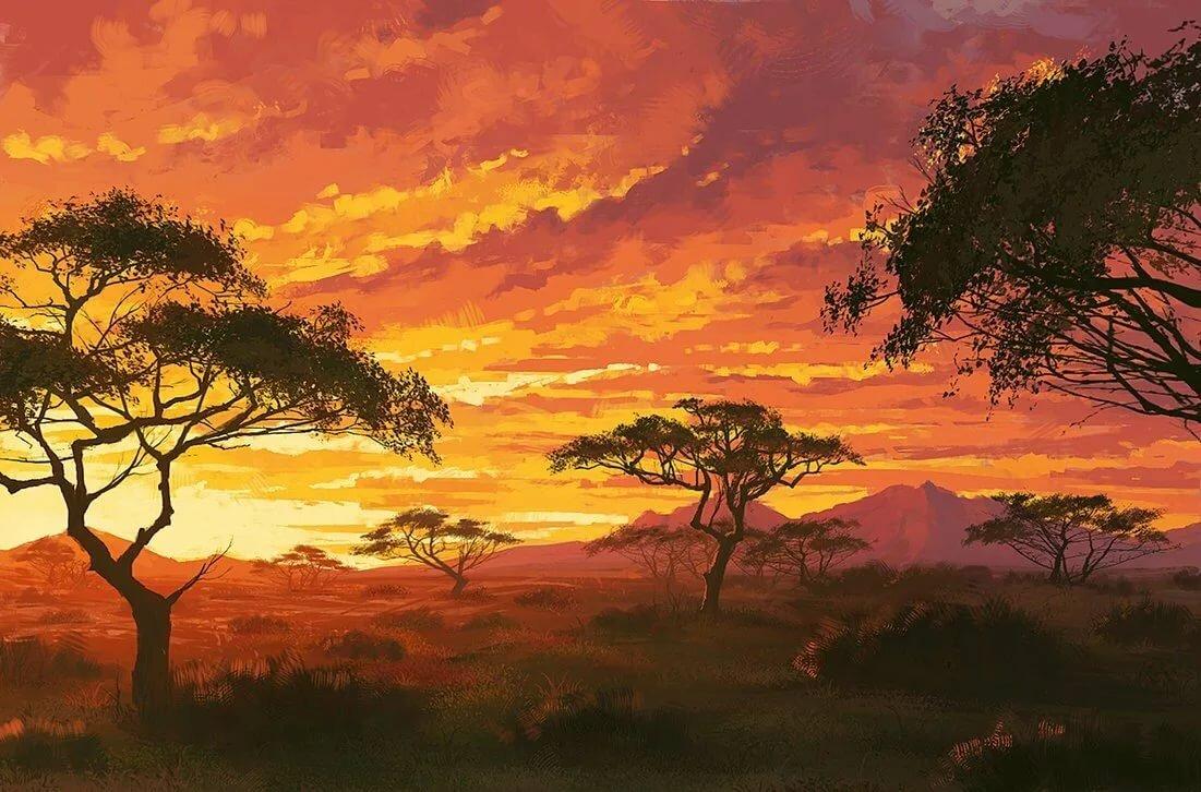 всех африканские пейзажи картинки подконтрольны традиционные