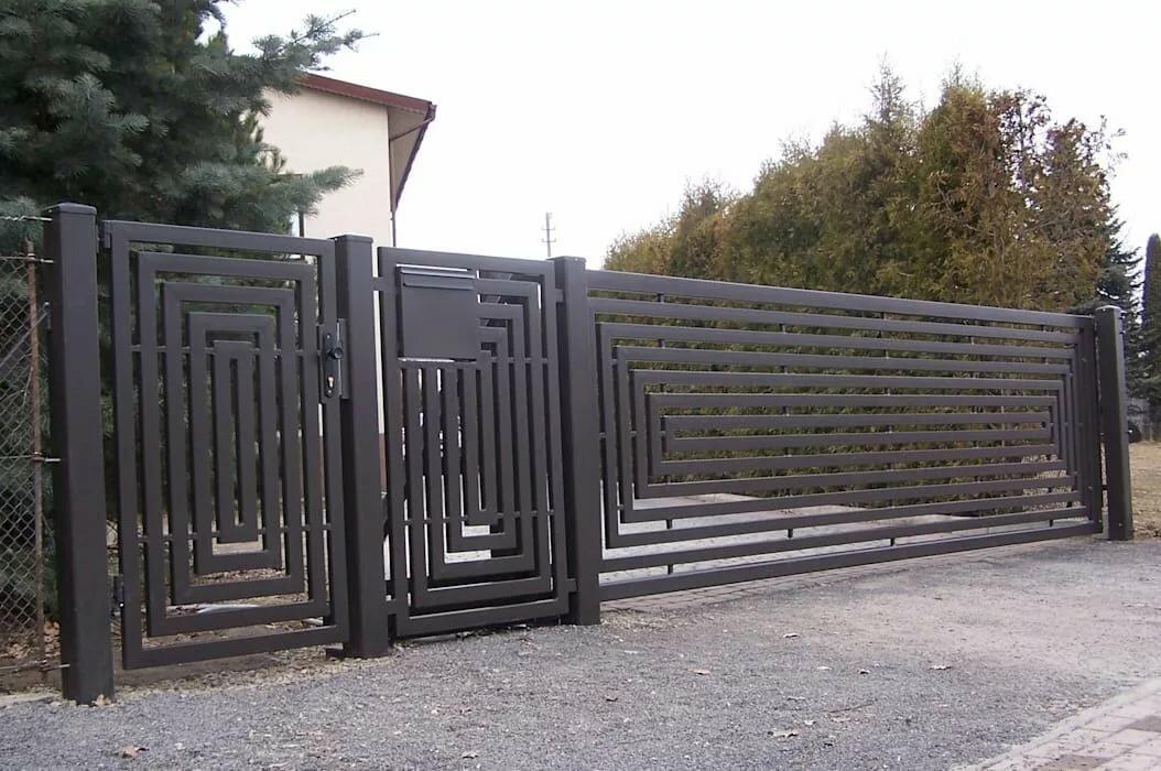арбитр совершенно фото забор в стиле минимализм кованый предварительным