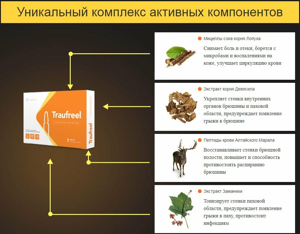 Traufreel от грыжи в Киеве