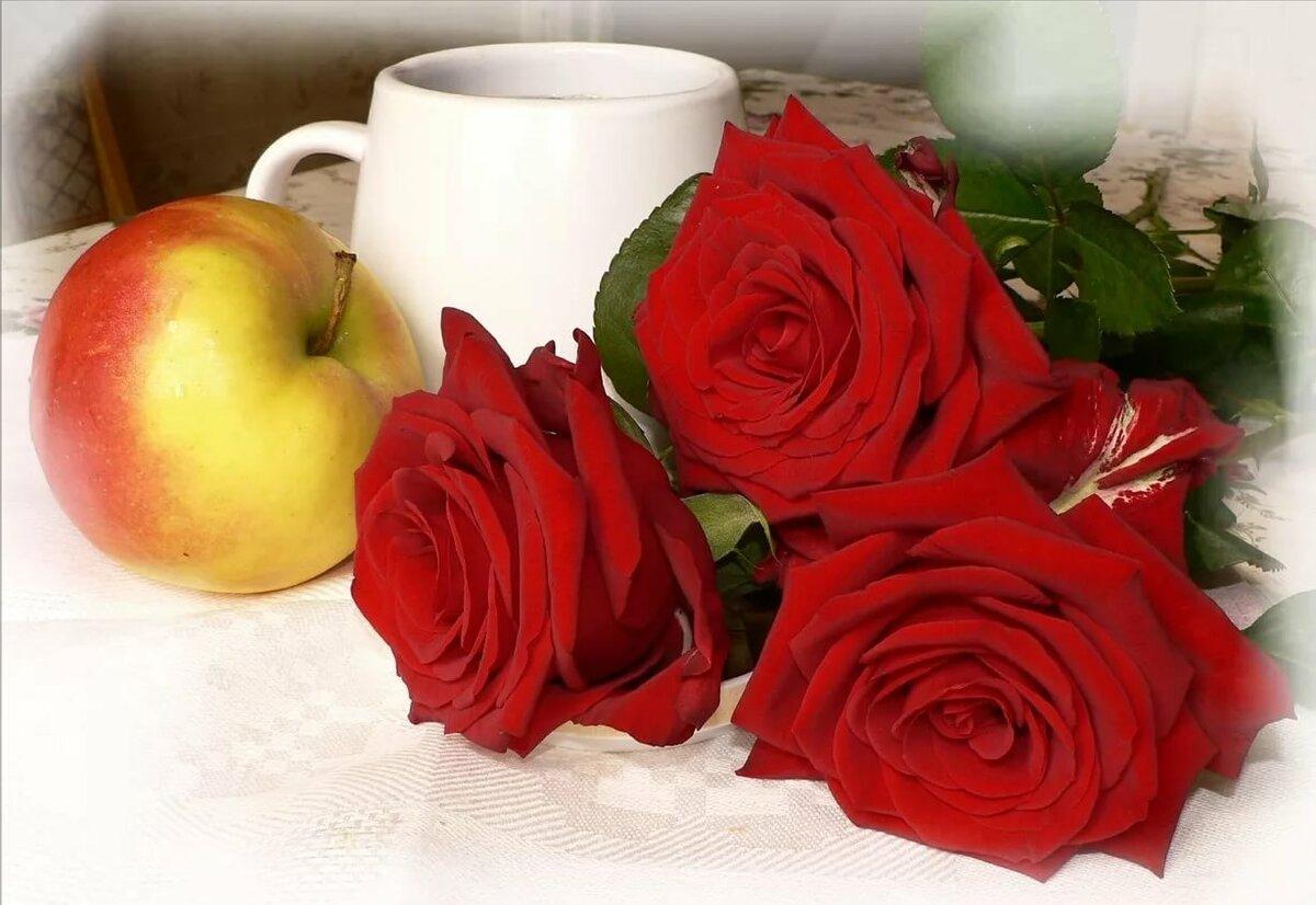для рассасывания открытки доброе утро солнышко с розами новогоднего