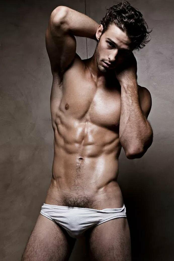Gorgeous men nude greetings