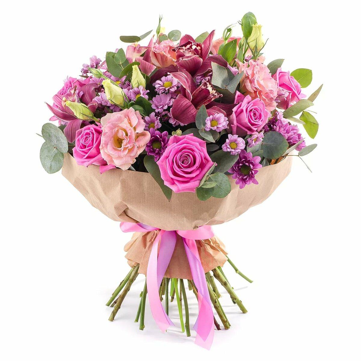 Букеты тюмень, какие цветы подарить женщине на день рождения