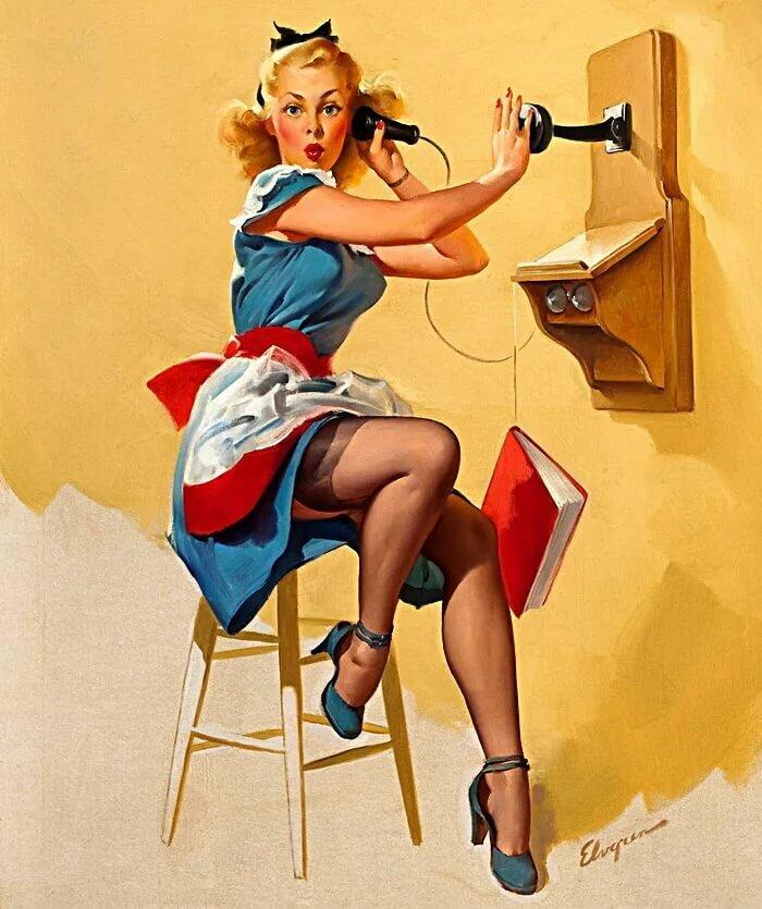 Веселые картинки про женщину и работу