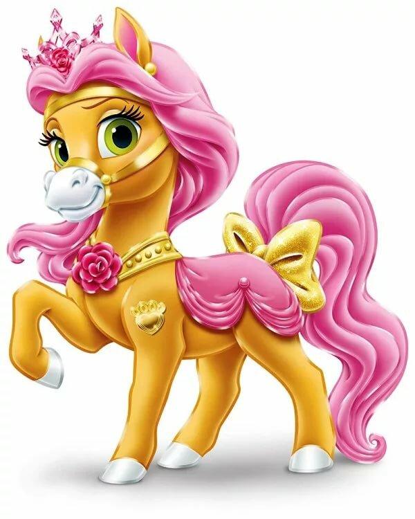 Картинки мультяшные лошадки-пони
