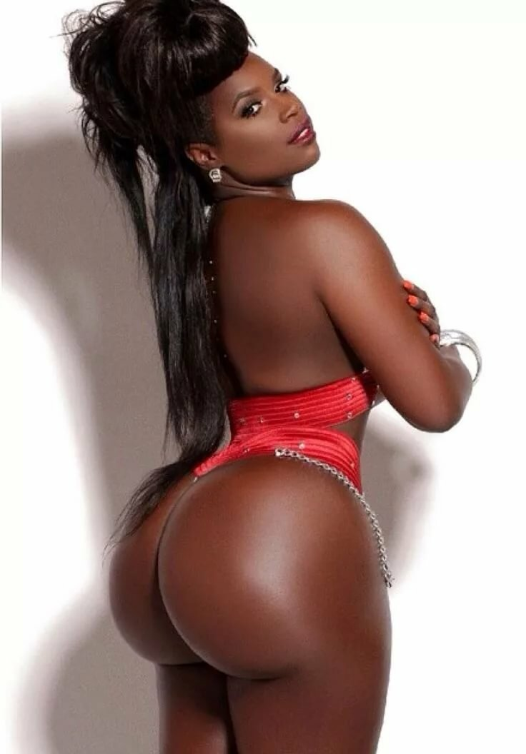 Pretty big booty black girls naked