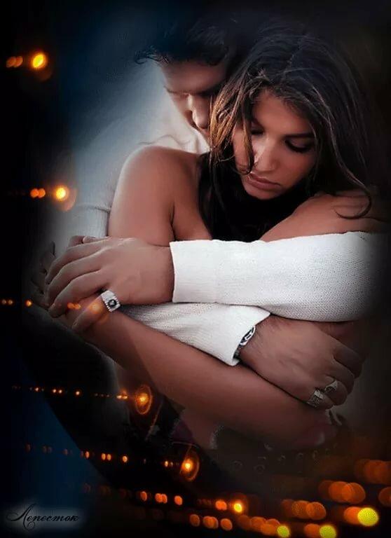 Красивая открытка обнимает любимую, любовные открытки обои