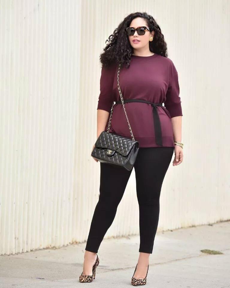 Curvy Women Latest Outfit Ideas Plus Size Lookbook Melonstube 1