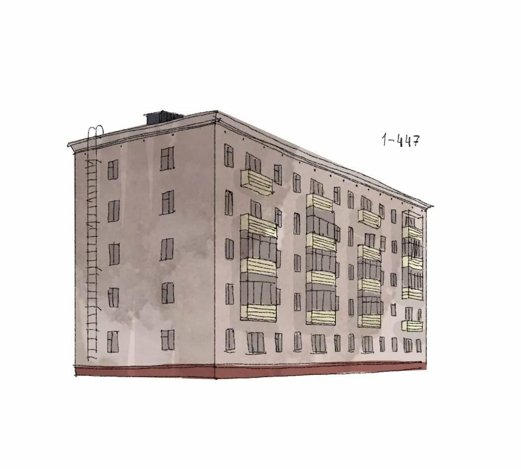 Картинки дома пятиэтажного домашних