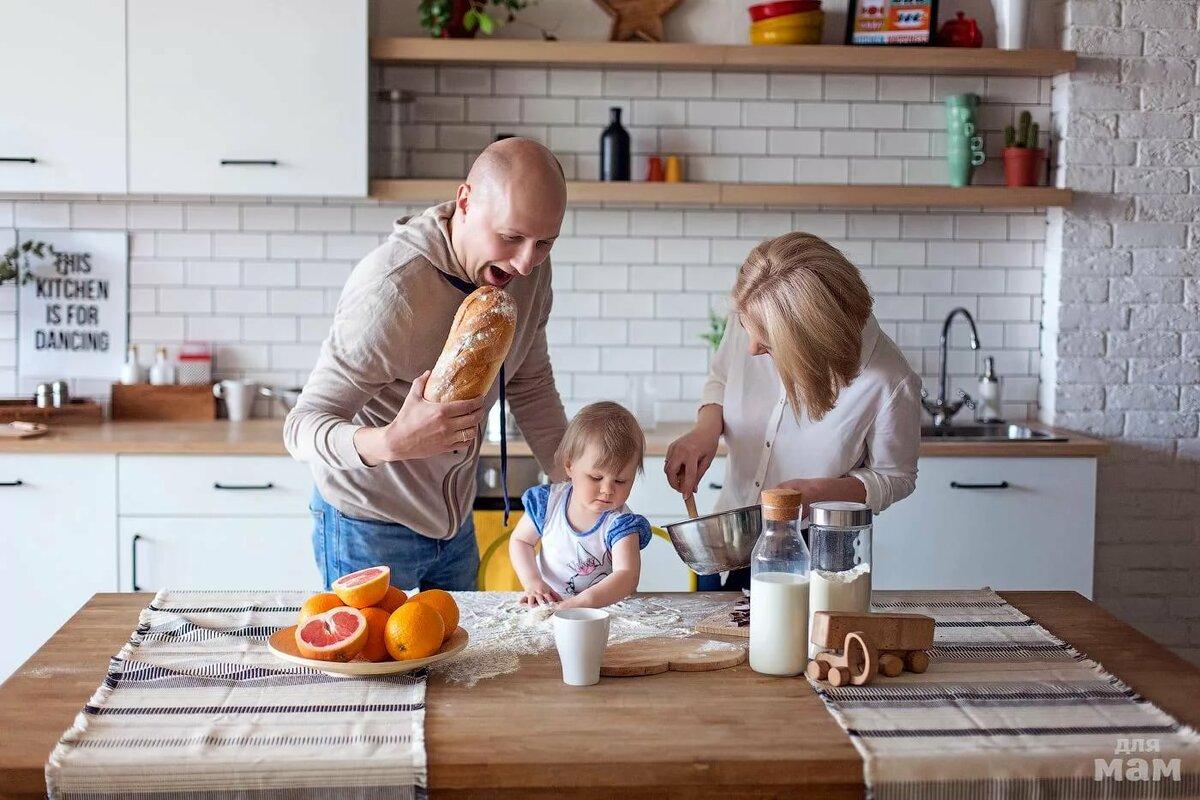 картинки кухня семьями свое предложение или