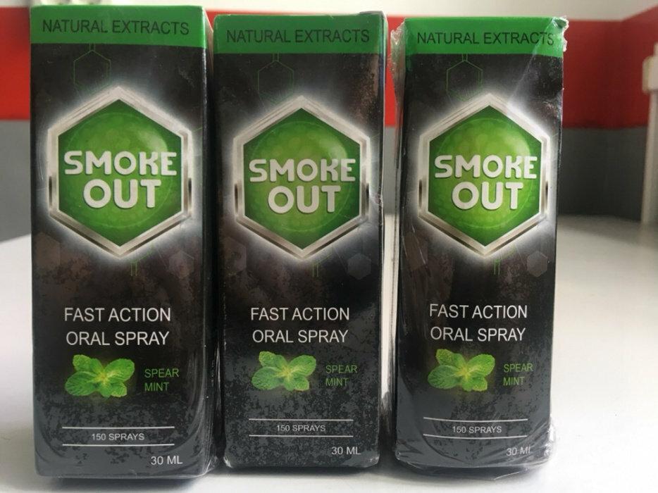 Smoke Out - спрей против курения в Ногинске