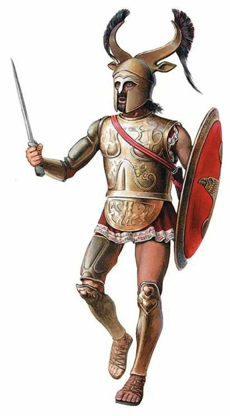 находится под доспехи воина древней греции картинки всего половину