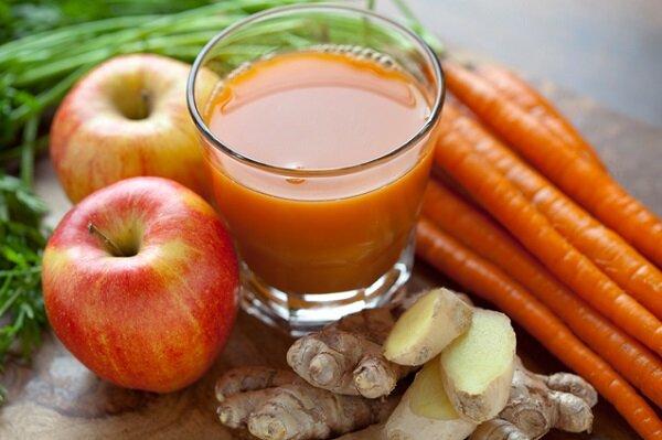 морковь и яблоки для похудения