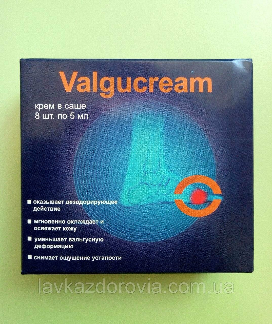 Valgucream - крем от вальгусной деформации в Златоусте