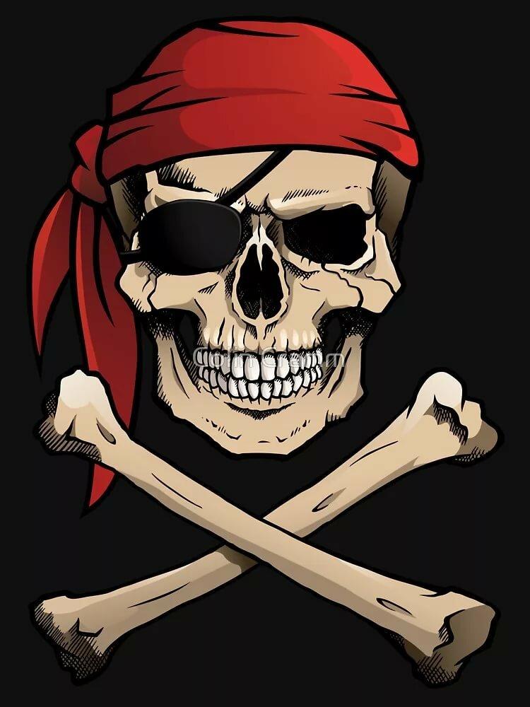 картинка черепа на пиратском флаге чего начать