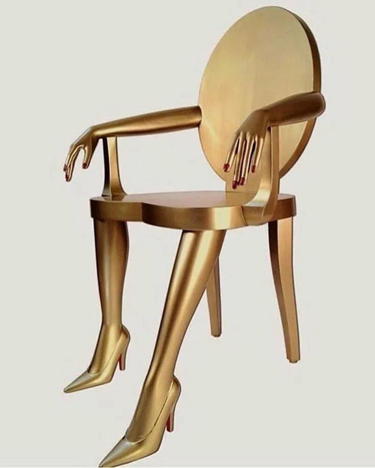 картинки дизайнерских стульев фото белым медведем