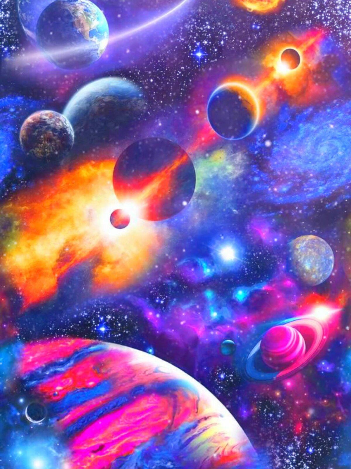 создание картинок космос затраты можно