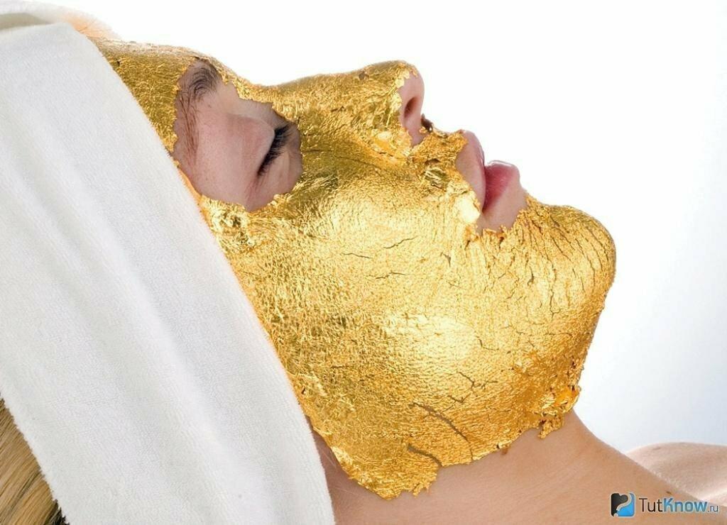 Kaprielle - омолаживающая маска из сусального золота в Нальчике