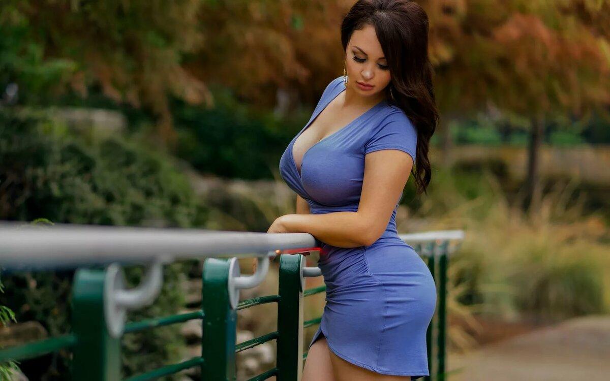 Женщины с большим размером груди фото — 11