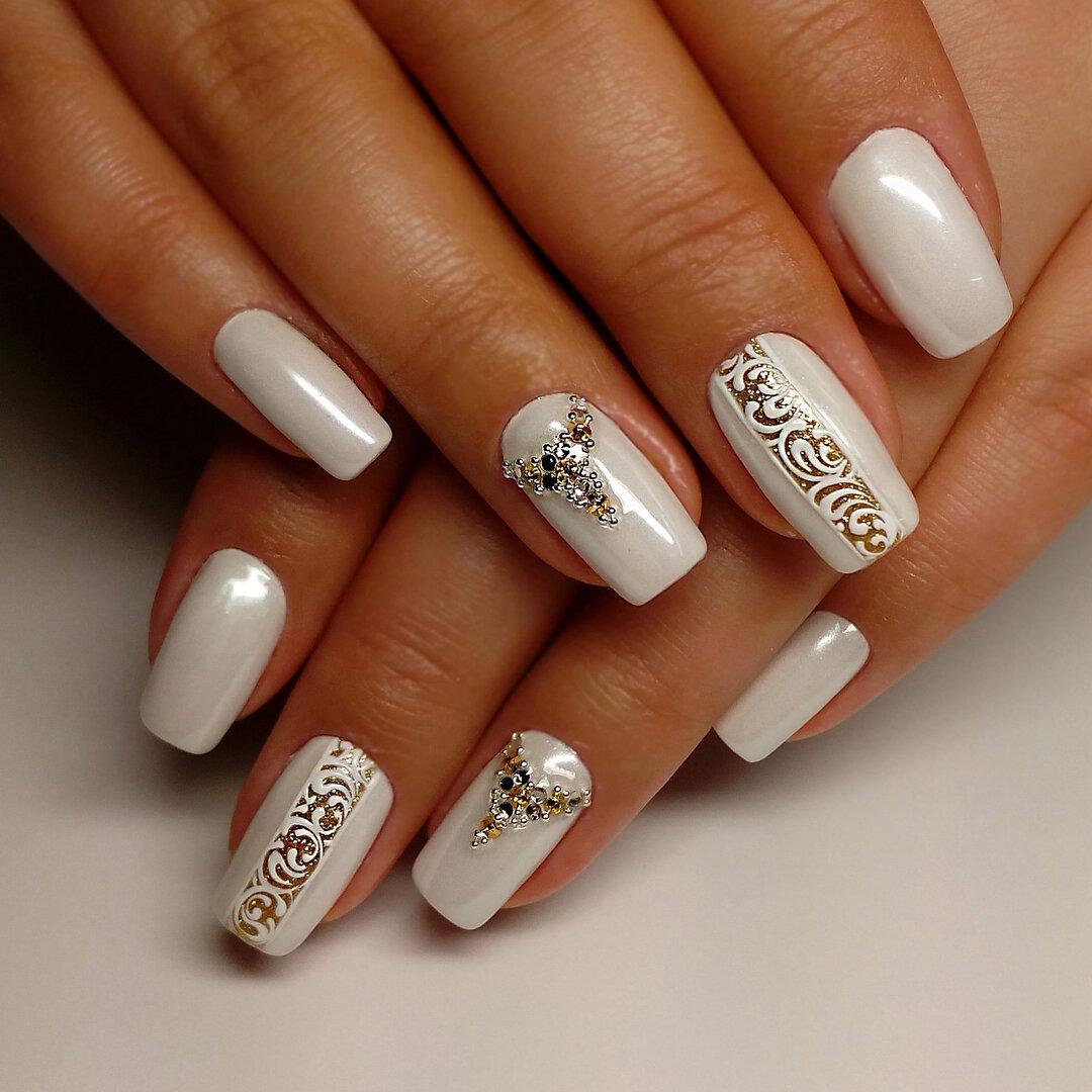 Стильный дизайн ногтей картинки