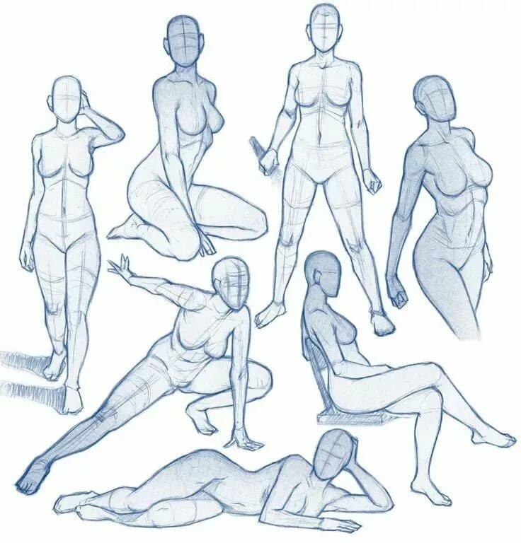 Картинки положения тела