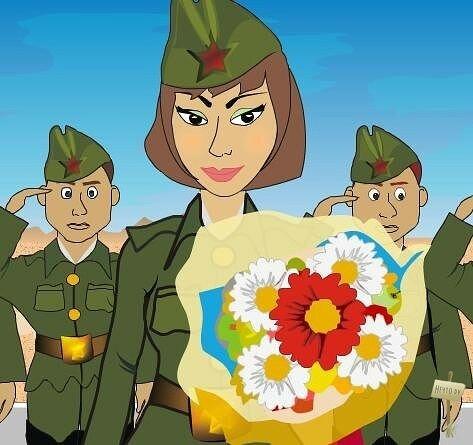 Днем, открытка для сын военнослужащего