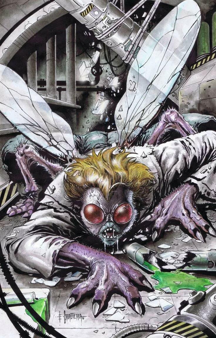 его обычной муха мутант картинки имеет