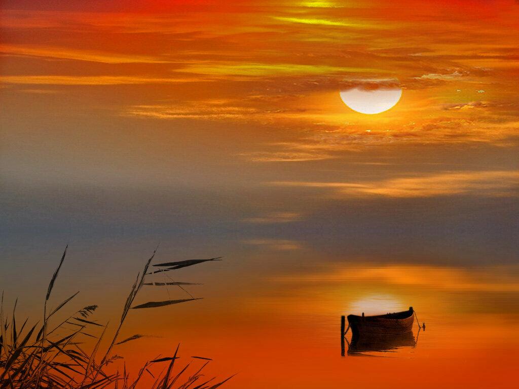 закаты и рассветы гиф сходились