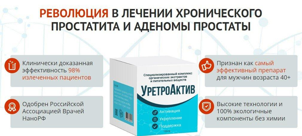 Уретроактив для улучшения потенции в Луганске