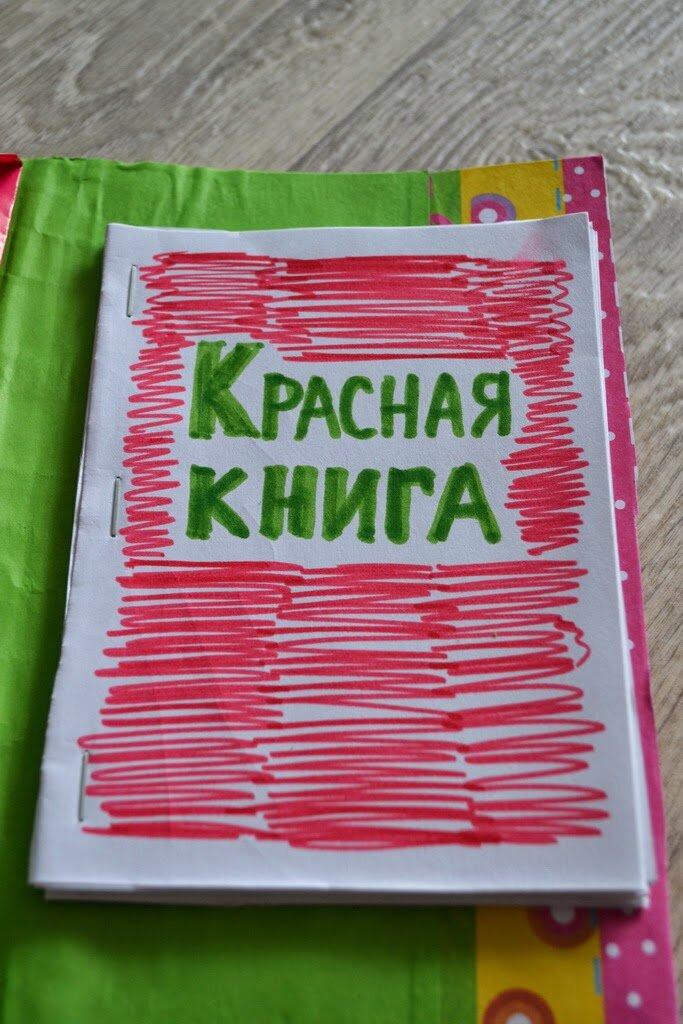 Как сделать красную книгу фото 726