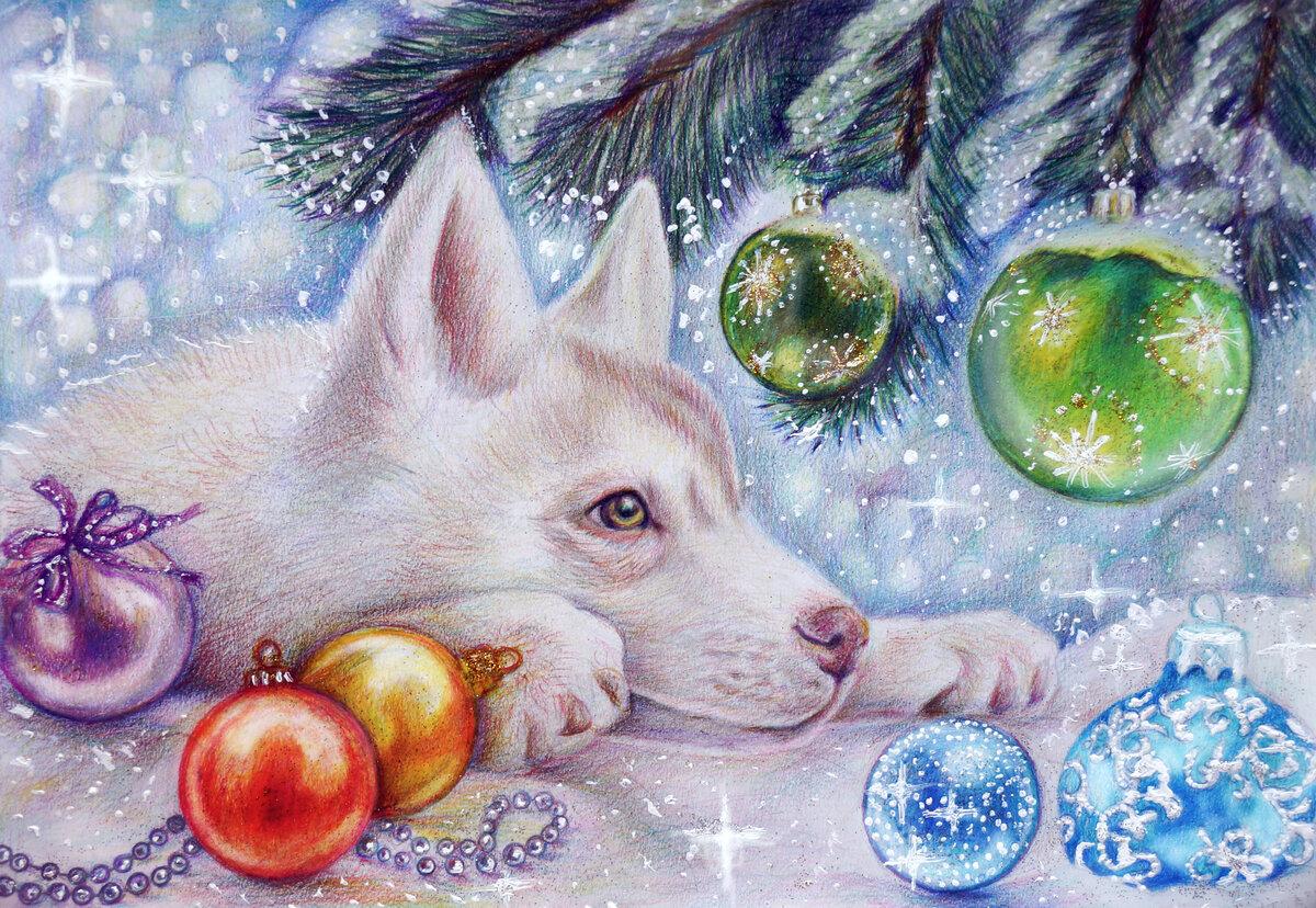 Картинки новый год рисунки