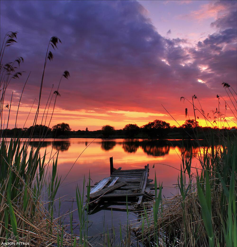 Католической пасхой, теплый летний вечер картинки