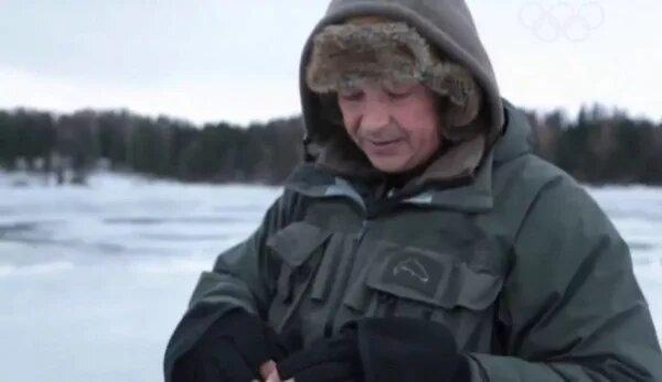 Ловля на течении зимой - шарик, дергуша