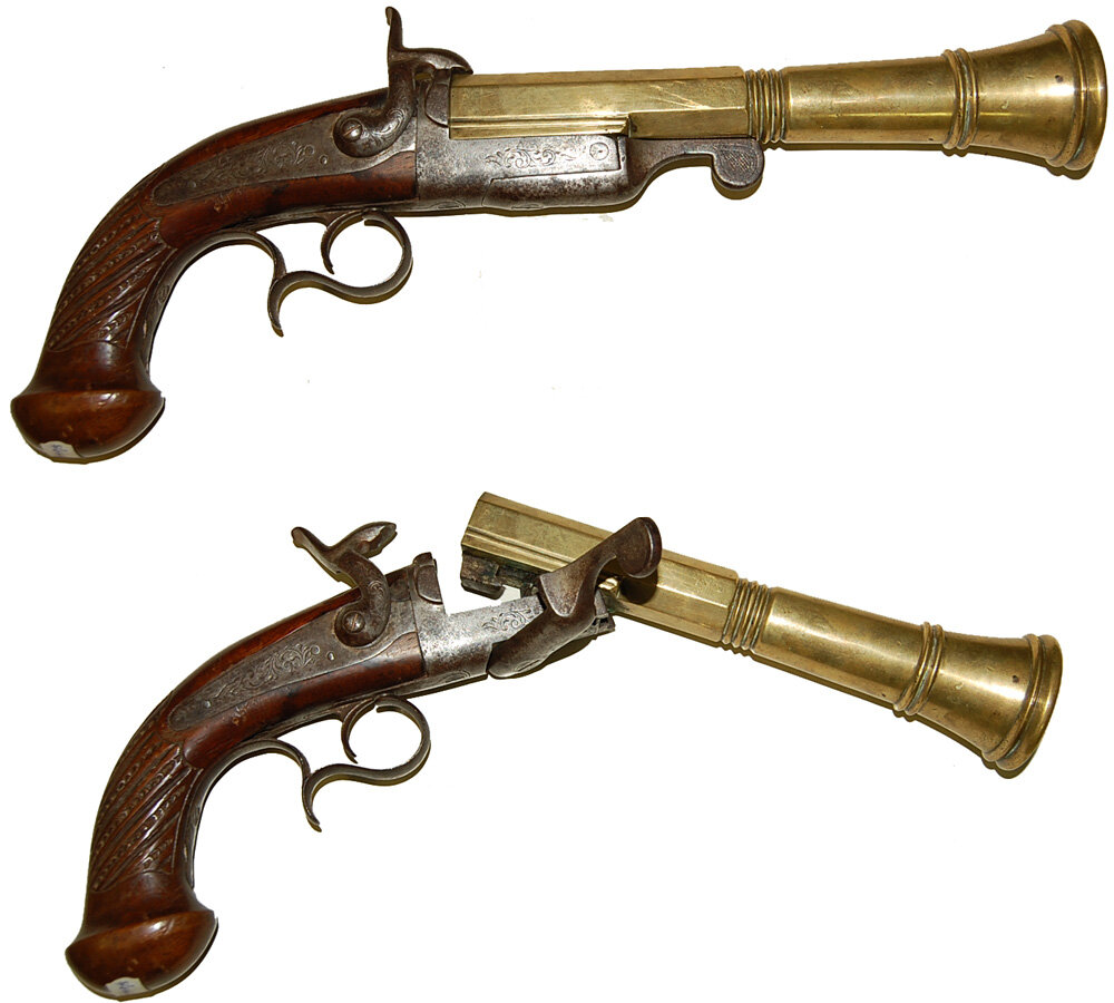 Картинка старинный пистолет