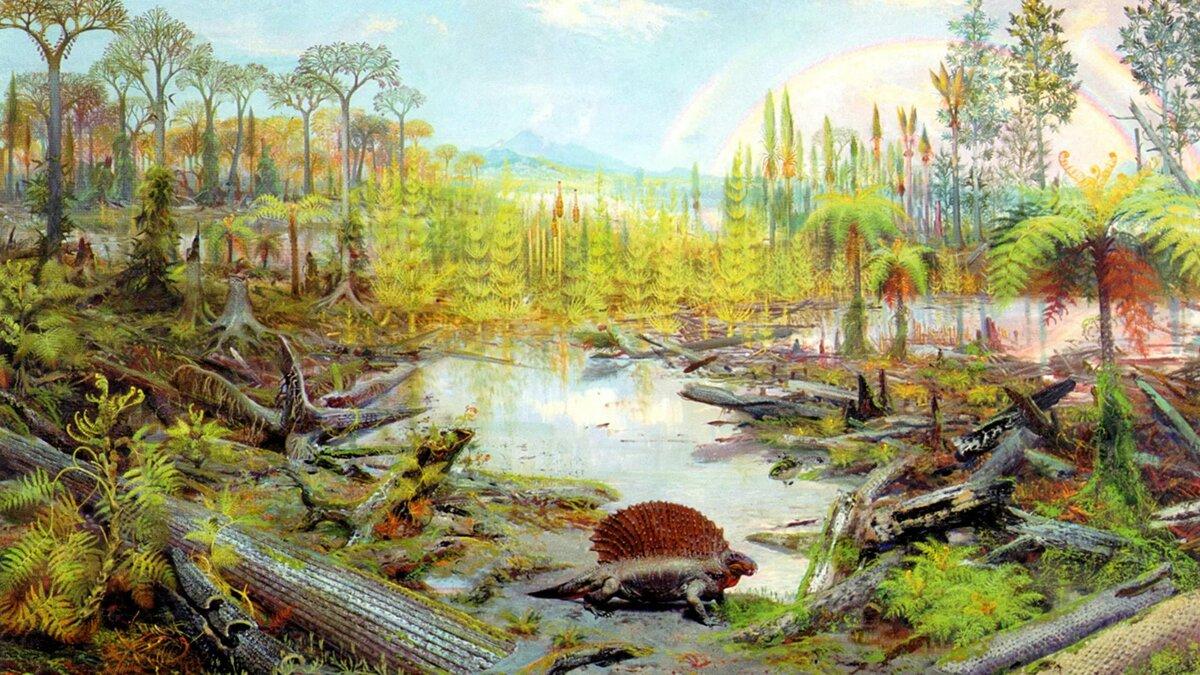 Доисторические растения в картинках