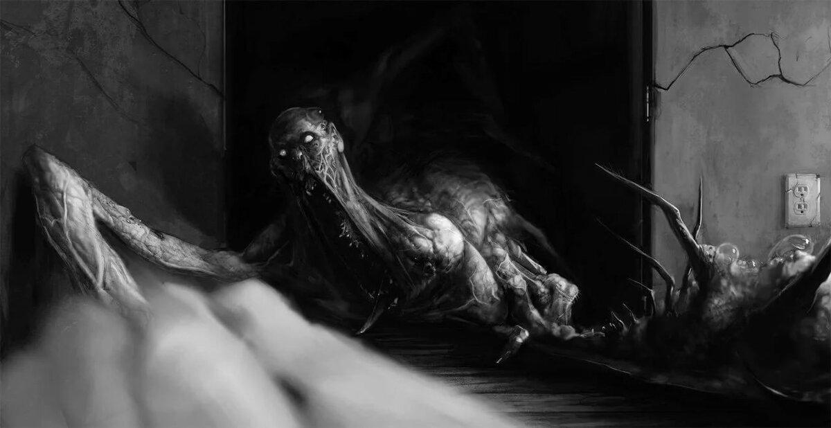 картинка сон чудовищ поделитесь своей историей