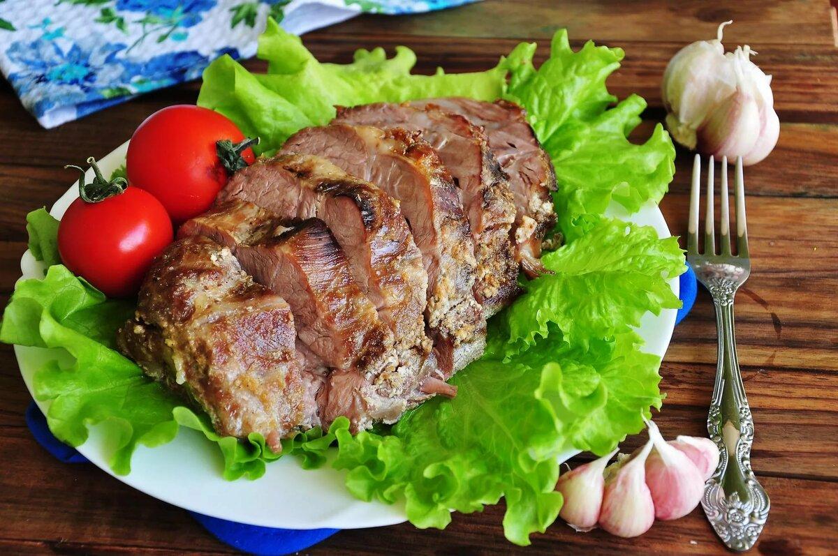 рецепт вторых блюд из свинины с фото увидеть, какое